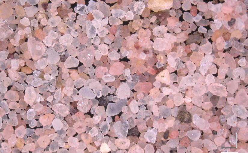Sand: Ardrossan, Scotland